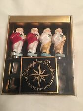 Christopher Radko Home For The Holidays Santa Claus Butter Cheese Pate Spreaders