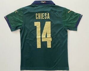 Federico Chiesa #14 Italy Jersey Set Men Size M Free Ship