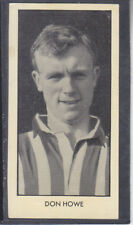 Thomson - World Cup Footballers 1958 # 16 Don Howe - West Bromwich Albion