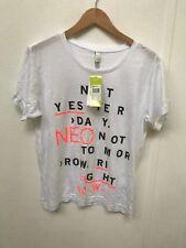 adidas NEO Women's Brand Love T-Shirt - Medium - White - New