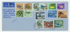 Jamaica 1964 Definite Set to 3/- on FDC to UK, Attractive!