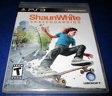 Shaun White Skateboarding  Playstation 3 *factory Sealed! *Free Shipping!