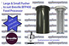 Breville BFP400 Food Processor Pusher Set Part BFP400/30 & 31 - NEW - GENUINE