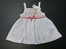 Gymboree Girls Size 10 White Smocked Striped Knit Tank Top Shirt New