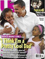 Us Weekly Magazine Barack Obama Family Twilight Robert Pattinson Kristen Stewart