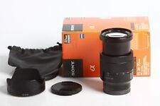 Carl Zeiss Vario-Tessar FE 4/24-70 ZA OSS T* Sony E-Mount , neuwertig