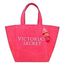 Victoria's Secret Pink Terry Cloth Tote Bag 2018 Limited Edition (Pink)