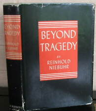 Beyond Tragedy. by Reinhold Niebuhr, Signed hard cover in dust jacket