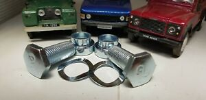 Land Rover Series 2a 3 Defender Seat Belt Anchor Mounting Bracket Fitting Bolts