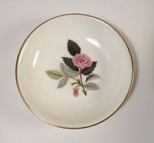 Wedgwood Ceramic Small Bowl Pink Hathaway Rose 1970s