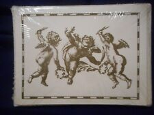 Nature Notes Golden Earth Collectopm 8 note cards & Envelopes Cherubs Angles