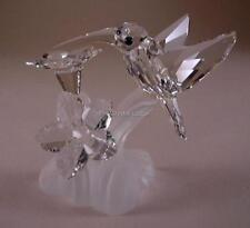 SWAROVSKI CRYSTAL HUMMINGBIRD 166184 MINT BOXED RETIRED RARE
