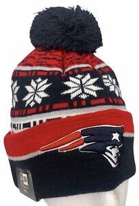 NEW ERA New England Patriots NFL Sideline Beanie Winter Knit Cap Hat NWT