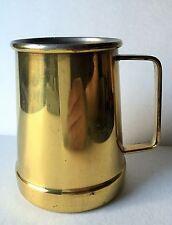 Taurus Bras Copper Mug Tankard Beer Solid Gold Beverages Vintage Cup Portugal