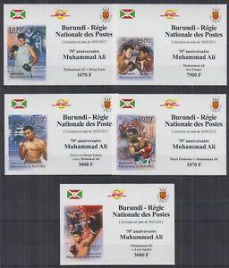 L838. Burundi - MNH - Sports - Famous Athletes - Deluxe - Imperf