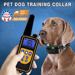 Dog Training Shock Collar waterproof/dustproof 2000ft range