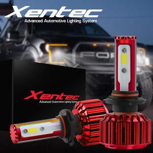 60W 6000lm Cree LED Headlight Kit H4 9003 HB2 Hi/Low beams 6000K Bulb Pair