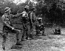 Vietnam War Degars & US Army Rangers 1966  Photo Reprint 6x5 Inch 100