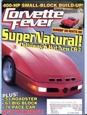 Corvette Fever Magazine February 1993 SuperNatural! EX 031816jhe