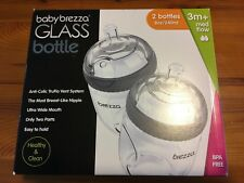 1feecac234c Baby Brezza 2-Piece Natural Glass Baby Bottle 8 Ounce ( Pack of 2 )