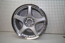 "ONE LORENZO WHEEL WL028 18"" x 9.5""  BLEMISHED  40MM OFFSET  5x114/120   CB-74.1"