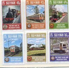 Isleof Man-Railwaysnew issue 2013-Steam trains/Local Railways-mnh