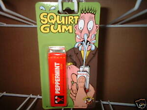 Squirting Chewing Gum. Great Party trick. Guaranteed delivery.