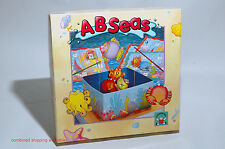 AB Seas Alphabet game from Discovery Toys 1991 COMPLETE (read description)