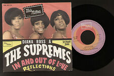 """7"""" DIANA ROSS SUPREMES IN AND OUT OF LOVE / REFLECTIONS ITALY 1967 SOUL TAMLA"""