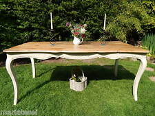 Shabby Chic French Style CREAM Farmhouse Kitchen Dining Table DELIVERY AVAILABLE