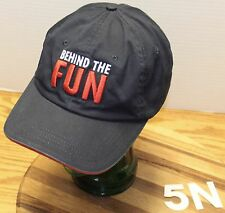 "CARNIVAL CRUISE LINES ""BEHIND THE FUN"" HONORARY TEAM MEMBER HAT DARK BLUE GC"