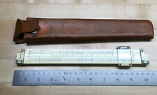 Vintage Keuffel & Esser NY Slide Rule w Leather Case 4088-2 #A
