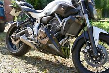 Yamaha MT-07 FZ-07 Tracer / XSR 700 - TEC 2-into-1 Stainless DE CAT Exhaust