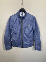 HUGO BOSS BOMBER Jacket - Size 34R - Blue - Great Condition - Mens