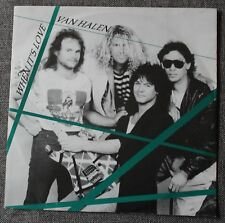 Van Halen, when it's love / a apolitical blues, SP - 45 tours