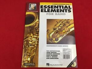 Essential Elements For Band - Book 1 - Bb Tenor Saxophone - EEi - With CD