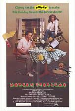MODERN PROBLEMS Movie POSTER 27x40 Chevy Chase Patti D'Arbanville Mary Kay Place
