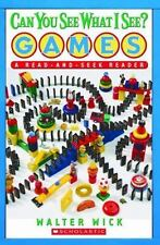 Scholastic Reader Level 1: Can You See What I See? Games: Read-and-Seek