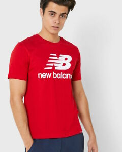 New balance Essentials Stacked Logo Loisirs T-shirt Homme coton