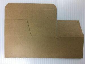 "Brown Kraft Paper Box w/Lids 8""L x 4""D x 3.5""T gift, cupcake/muffin, favor box."