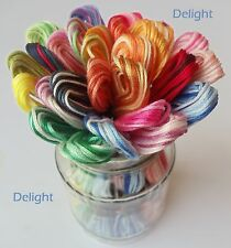 27 Variegated Anchor Cross Stitch Cotton Embroidery Thread Floss Skeins