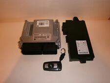 BMW 3' E90 E91 320d N47 ENGINE ECU LOCK SET DIESEL 7809000 CAS 3 IGNITION KEY
