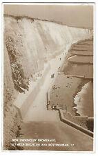 New Undercliff Promenade Between Brighton & Rottingdean RPPC By Hamiltons, 1940