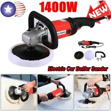 "7"" Electric Polishing Machine Car Polisher Electric Tool Buffing Waxing Waxer US"