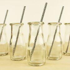 36 x NEW GLASS SODA MILK BOTTLES Mini 220ml Jar - Bulk Wholesale Lot Jars Bottle