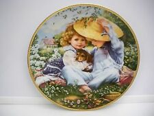 Collectors Plate ''A Time To Love''Sandra Kuck March Of Dimes Our Children Our F