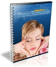 """ Emergency Panic Remedies ""  Mini Ebook - PDF - Panic Attack Solutions Help"