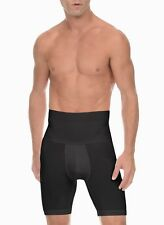 $44 2XIST UNDERWEAR MEN BLACK SHAPE SLIMMING COTTON STRETCH BOXER BRIEF SIZE M