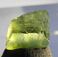 3.35ct, Natural Gem Grade Healing Peridot Crystal from Pakistan, US SELLER
