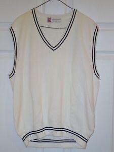Vintage Slazenger Sleeveless Tennis Golf Sweater Men's Size Large